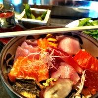 Photo taken at Masu Sushi by Matt on 4/15/2012
