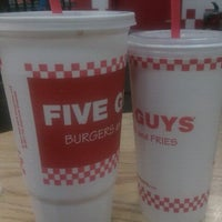 Photo taken at Five Guys by Anthony Y. on 3/28/2012