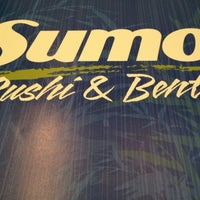 Photo taken at Sumo Sushi & Bento, Garhoud by mikoydxb on 3/10/2012