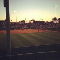 Photo taken at Rita Hillenbrand Memorial Stadium by Ben C. on 5/12/2012