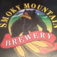 Photo taken at Smoky Mountain Brewery by Michelle D. on 5/11/2012