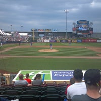 Photo taken at Werner Park by Saint P. on 6/10/2012