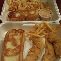 Photo taken at Raising Cane's by Suzanne H. on 5/27/2012