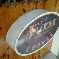 Photo taken at First Coffee by Sirinapa B. on 5/28/2012