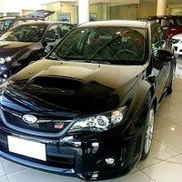 Photo taken at Subaru Greenhills | Motor Image Pilipinas Inc. by 🚙 Jonel C. on 8/20/2012