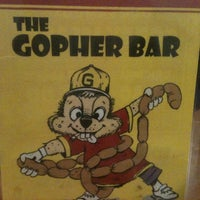 Photo taken at Gopher Bar by G. Sax on 7/28/2012