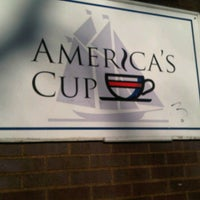 Photo taken at America's Cup Cafe by Heather D. on 2/28/2012