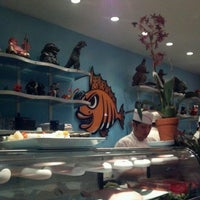 Photo taken at Monster Sushi by Adrienne C. on 5/15/2012