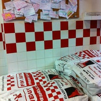 Photo taken at Five Guys by Ej T. on 7/6/2012