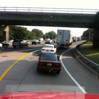 Photo taken at Long Island Expressway (LIE) (I-495) by Larry G. on 8/17/2012