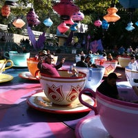 Photo taken at Mad Tea Party by Gina W. on 2/26/2012