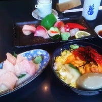 Photo taken at Ajisai Sushi Bar by Kevin W. on 8/2/2012
