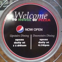 Photo taken at House of Pizza by Tom C. on 3/4/2012