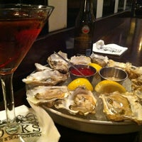 Photo taken at Docks Oyster Bar by Shelley H. on 5/18/2012