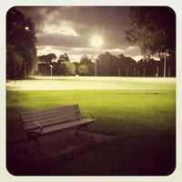 Photo taken at Meadowbank Park by Ilya K. on 3/6/2012