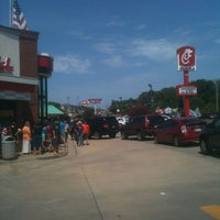 Photo taken at Chick-fil-A Rogers Avenue by Tami J. on 8/1/2012