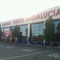 Photo taken at Abades Puerta de Andalucía by Mario F. on 7/17/2012