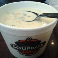 Photo taken at Soupbox by Carol S. on 3/4/2012