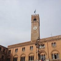 Photo taken at Piazza dei Signori by Davide B. on 3/30/2012