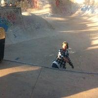 Photo taken at Skatepark Parque O'Higgins by Santiago F. on 4/22/2012
