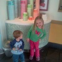 Photo taken at Tutti Frutti Frozen Yogurt by Stacey D. on 2/27/2012