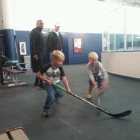 Photo taken at Richfield Ice Arena by Yvette B. on 8/26/2012