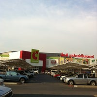 Photo taken at Big C by W🅾🅾D P. on 4/29/2012