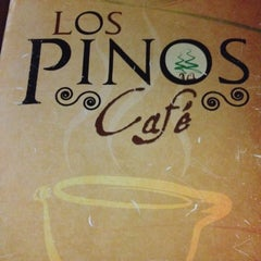 Photo taken at Los Pinos Cafe by Kolie D. on 3/1/2012