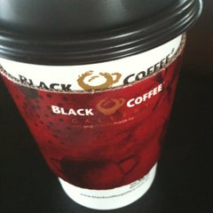 Photo taken at Black Coffee Gallery by Sergio Garval by Jorge L. on 4/14/2012
