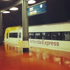 Photo taken at Arlanda Express (Arlanda S) by Mari N. on 5/12/2012