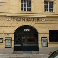 Photo taken at Haxnbauer by Hirokazu S. on 4/22/2012