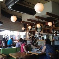 Photo taken at Landwer Café (קפה לנדוור) by Yoav S. on 6/28/2012