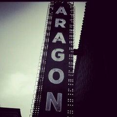 Photo taken at Aragon Ballroom by Kimberly M. on 4/22/2012