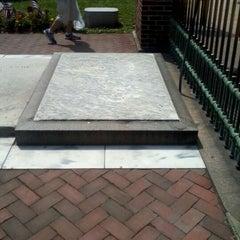 Photo taken at Benjamin Franklin's Grave by Martin K. on 6/3/2012