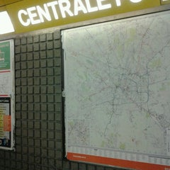 Photo taken at Metro Centrale FS (M2, M3) by Milena P. on 7/29/2012