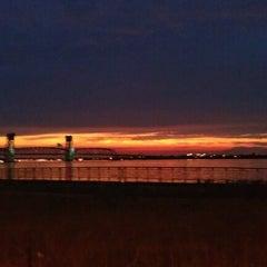 Photo taken at Jacob Riis Park by Daniel P. on 8/2/2012