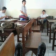 Photo taken at Sekolah Santo Paulus Jakarta by Hendry D. on 2/16/2012