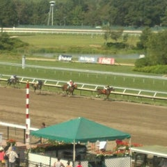 Photo taken at Monmouth Park Racetrack by Jodi L. on 9/1/2012