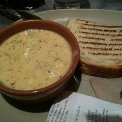 Photo taken at Panera Bread by Amanda G. on 3/28/2012