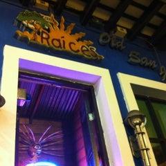 Photo taken at Raices Restaurant by Jess H. on 4/24/2012