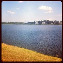 Photo taken at Lake Montebello by Justin H. on 8/22/2012