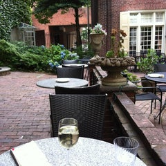 Photo taken at M Restaurant by Brenda on 6/27/2012