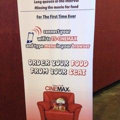 Photo taken at Cinemax by Manish S. on 7/25/2012