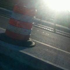 Photo taken at Hunts Falls Bridge by Josh H. on 8/27/2012