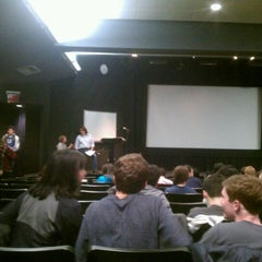 Photo taken at NYU Cantor Film Center by Marco V. on 2/29/2012
