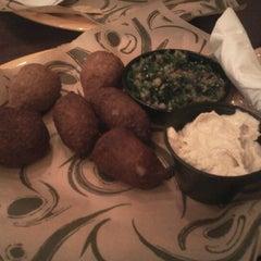 Photo taken at Kibberia Middle Eastern Restaurant & Cafe by Moo J. on 4/26/2012