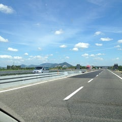 Photo taken at Autostrada A13 by Vittorio F. on 6/5/2012