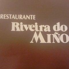 Photo taken at Ribeira do Miño by Alberto O. on 5/10/2012