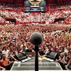 Photo taken at AccorHotels Arena by Lef C. on 7/4/2012