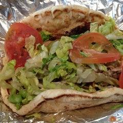 Photo taken at Mezza Mediterranean Grill by Matt Spudart M. on 4/11/2012